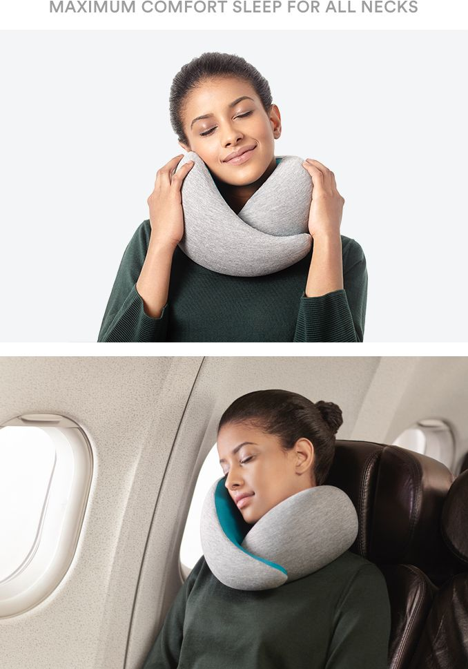 The ultimate travel pillow providing unparalleled comfort and total neck support thanks to its ergonomic design and viscoelastic core.