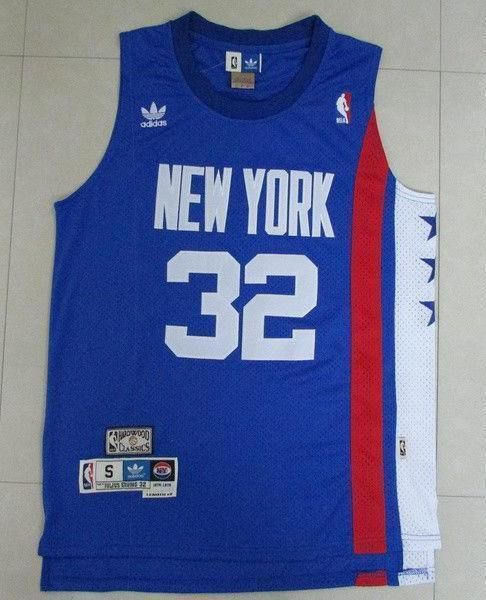 cc3247f75fa Men 32 Julius Erving Jersey New York Nets Blue Hardwood Classic ...