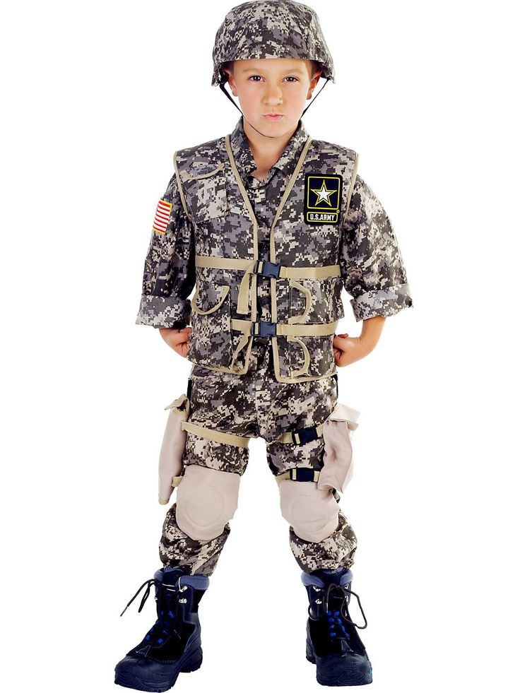 s army ranger deluxe costume boys military halloween costumes from costume super center - Halloween Army Costume