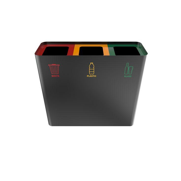 CASIRI PC - Compact sheet metal recycling bin