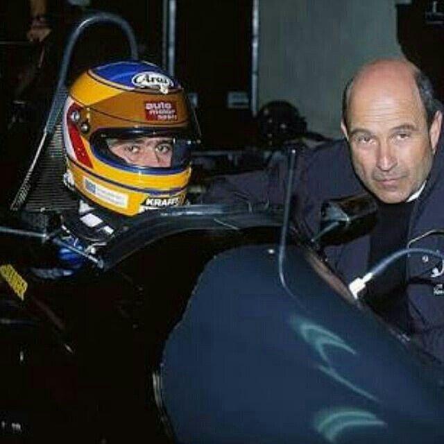 Karl Wendlinger & Peter Sauber