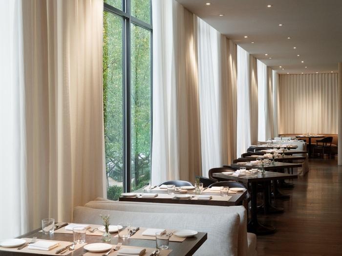 restaurant and bar design awards entry 201112 - Beaded Inset Restaurant Interior