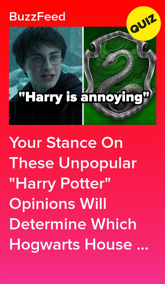 Your Stance On These Unpopular Harry Potter Opinions Will Determine Which Hogwarts House You Belong In In 2021 Which Hogwarts House Harry Potter House Quiz Quizzes For Fun