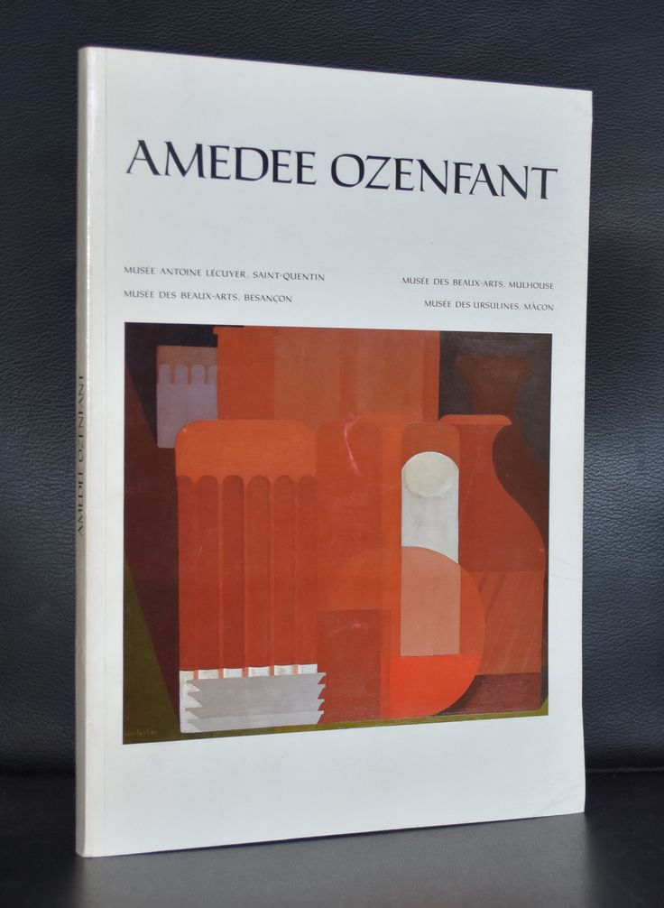 Besancon, Mulhouse # AMEDEE OZENFANT # 1986, nm+