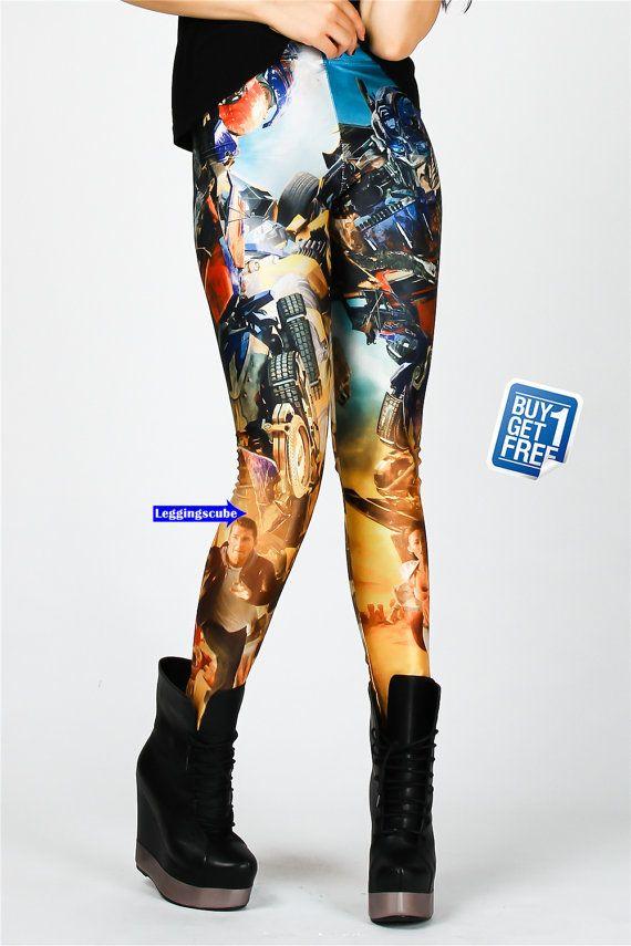 Transformateurs femmes Leggingstransformateur par leggingscube, $19.90