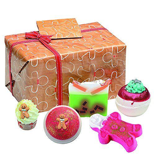 Bomb Cosmetics Bake Me Away Coffret Cadeau Price:     A Case of 4 Bake Me Away Gift Packs. Winter Warmer Soap 100g/3.5oz Ginger Love Bath Mallow 50g/1.7oz Ging...