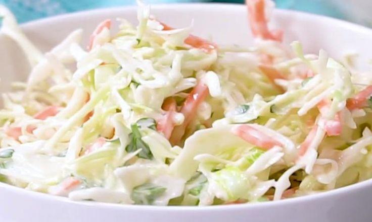 Un must pour l'été, ma salade de chou fait fureur à tout coup!
