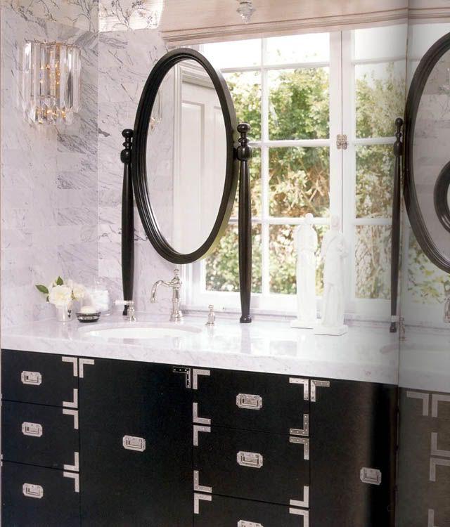 Bathroom Vanity Under Window 27 best b. layered bath mirrors images on pinterest | bathroom