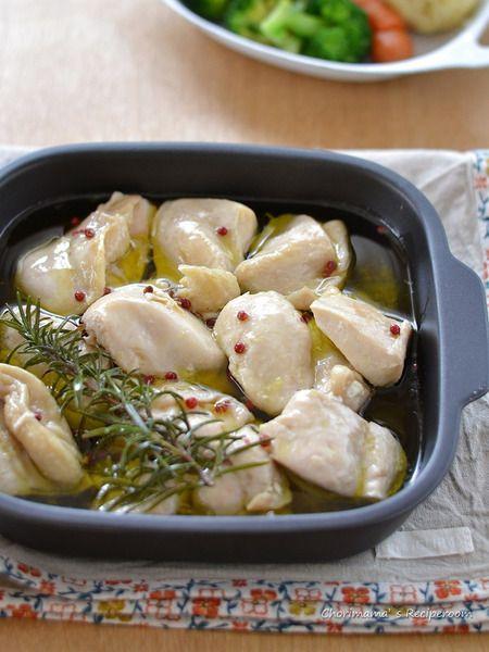 鶏むね肉のコンフィ by 西山京子/ちょりママ   レシピサイト「Nadia ...