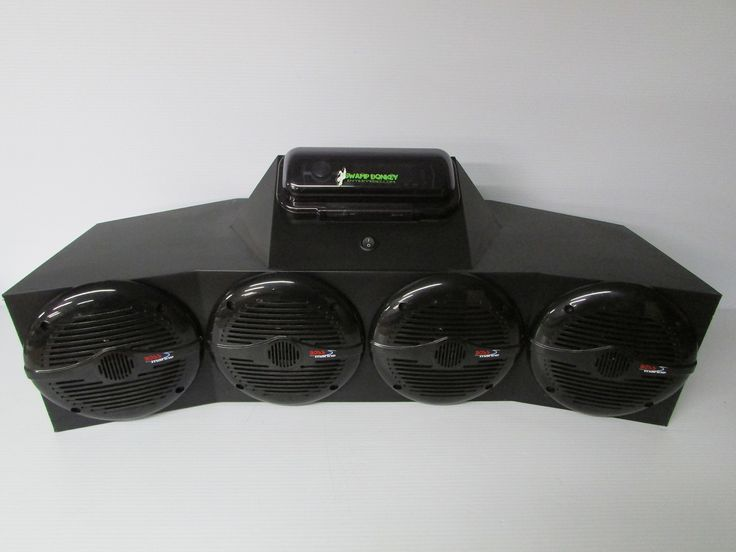 """SD ATVBBT4B -ATV Four Wheeler Stereo System Bluetooth (4-6.5"""" marine speakers). USB, Bluetooth, am/fm Radio, and AUX, NO CD PLAYER. Mounting & Wiring Hardware Included!!. Easy to Install and Ready to use!!. 2-6.5"""" Boss Marine speakers!!."""