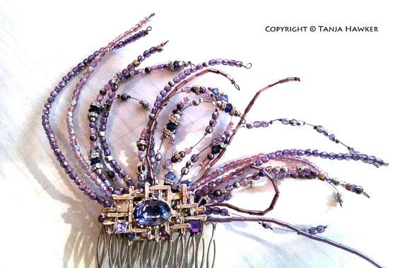 Custom Hair Comb for races, wedding or formal occasion. on Etsy, $390.00 AUD