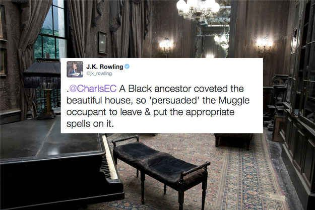 The reason why the pure-blood Black family's home was in the middle of a Muggle housing complex.