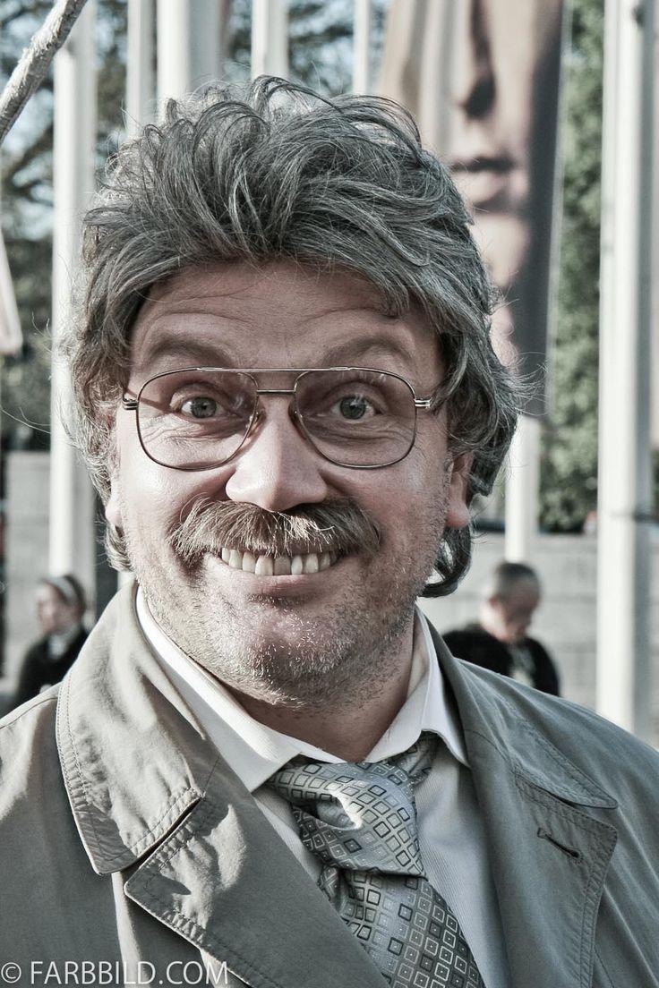"Emoticon ""Vorfreude""; Horst Schlämmer / Hape Kerkeling (Emoticons für Ultra-HD-Displays)"