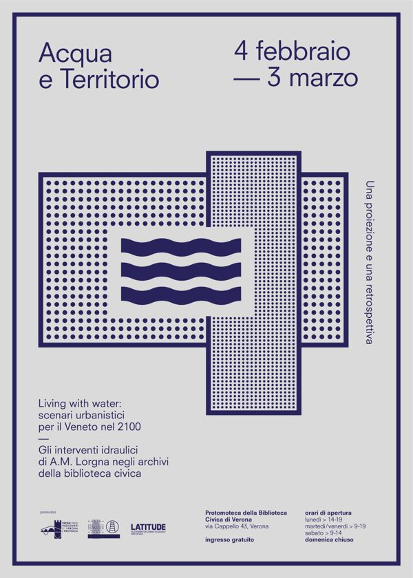 Acqua e Territorio by Studio Iknoki, via Behance #poster #graphic #printing