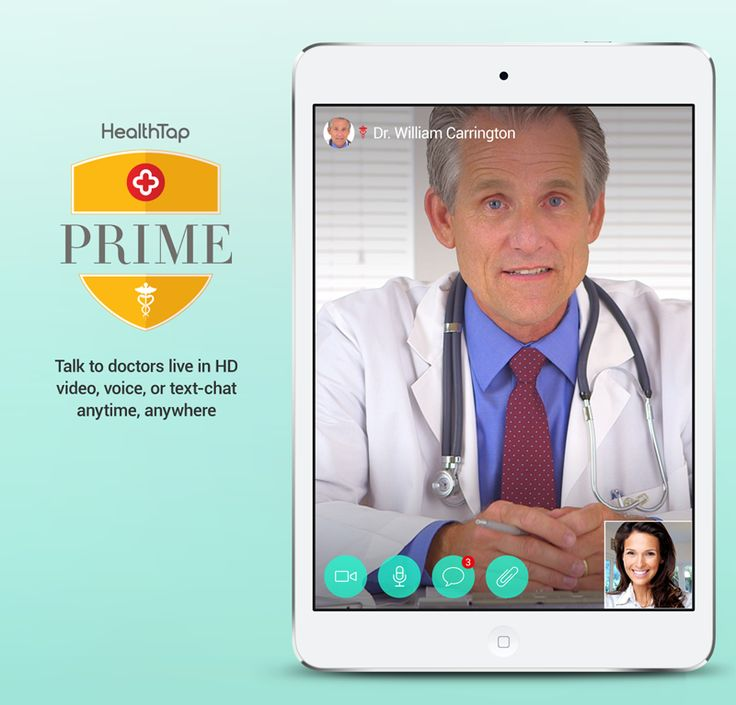 Live video chats with Doctors