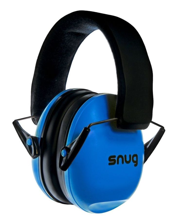 Blue Baby Earmuff Noise Sound Cancelling Ear Protector Toddler Hearing Safe #SNG