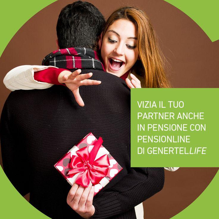 L'amore non invecchia. Mantieni la stessa qualità di vita e d'affetto con Pensionline di Genertellife. Scopri tutti i dettagli >> bit.ly/pensionline
