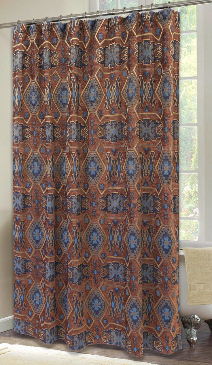 Southwestern Shower Curtains Ideas