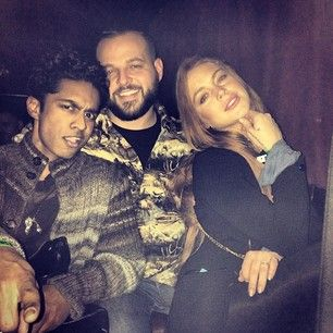 "Calling all who are ""Mean Girls"" obsessed like myself: Lindsay Lohan has had a reunion with Kevin G (Rajiv Surendra). And yes that is Daniel Franzese (Damian) with them.  Epic......"