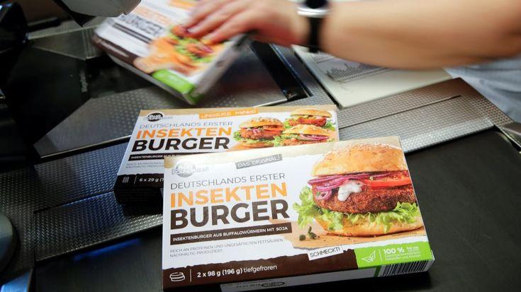 Σούπερ μάρκετ στη Γερμανία πουλάει μπέργκερ από… σκουλήκια!