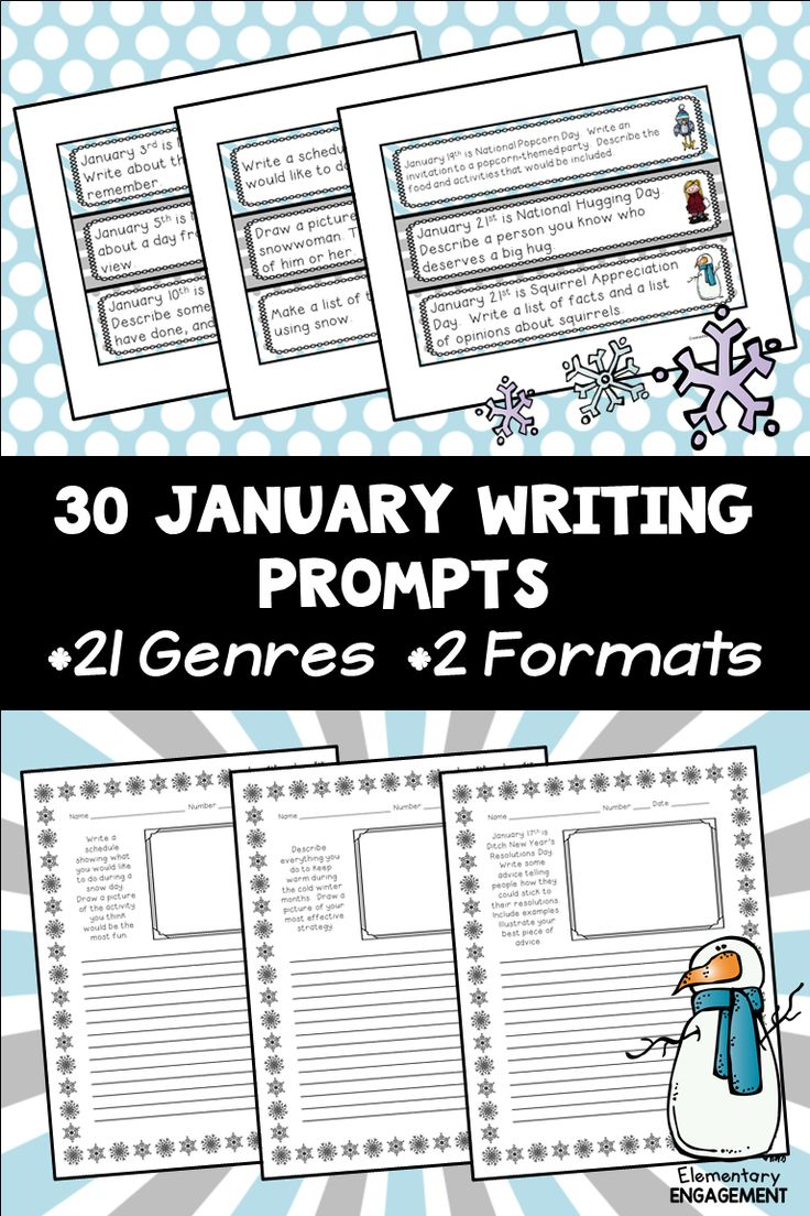 winter writing prompts elementary Home elementary resources  english language arts  writing prompts/journal topics writing prompts/journal topics  how do you feel on the first day of winter why.