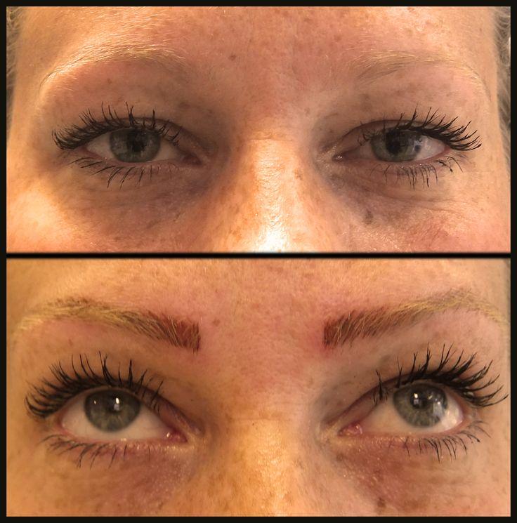 hairstroke techniek wenkbrauwen permanente make up