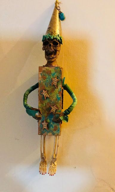 Calico Craft Parts: Norman Art Doll- by Lesley