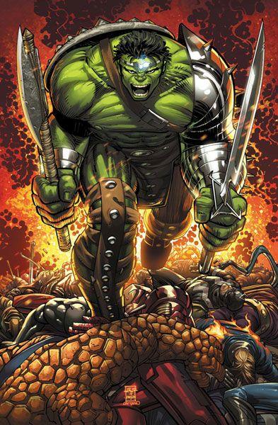 #Hulk #Fan #Art. (World War Hulk_Prologue World Breaker Vol.1 #1 Cover) By: John Romita Jr. (THE * 5 * STÅR * ÅWARD * OF: * AW YEAH, IT'S MAJOR ÅWESOMENESS!!!™)[THANK Ü 4 PINNING!!!<·><]<©>ÅÅÅ+(OB4E)