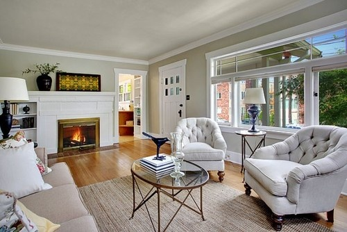 seattle greenlake craftsman sherwin wiliams useful gray is a great combo for linen upholstery. Black Bedroom Furniture Sets. Home Design Ideas