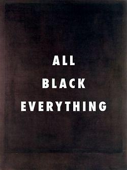 Fly Art tumblr | Run this town No. 8 Black form painting no. 8 (1964), Mark Rothko / Run This Town, Jay-Z ft. Kanye West, Rihanna