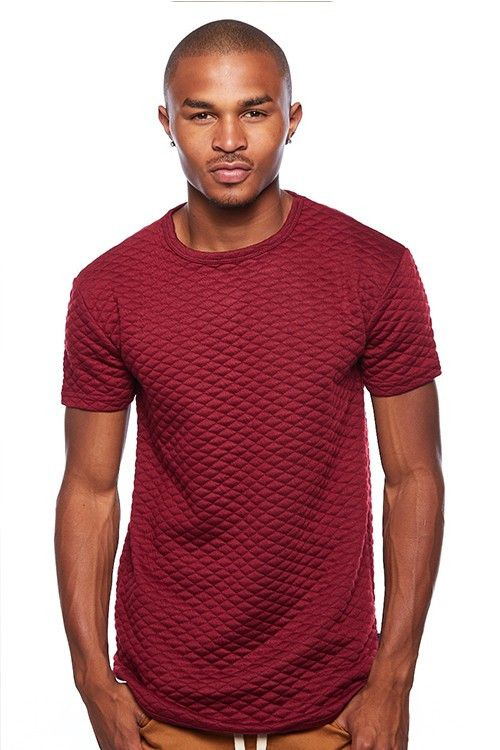 Henry & william quilted long tee