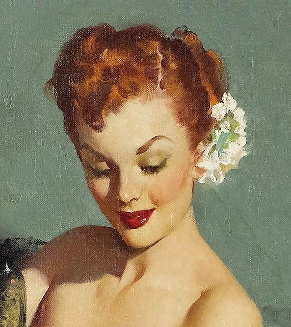 2019 Vintage Pinup Girl Gil Elvgren Hand Painted Art Oil: 315 Best Vint@ge Images On Pinterest