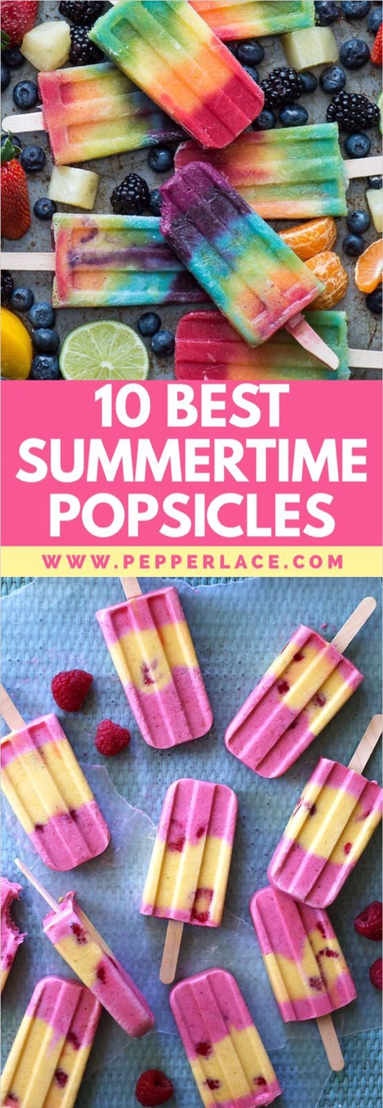 10 Best summertime Popsicles To Make at Home – PepperLace