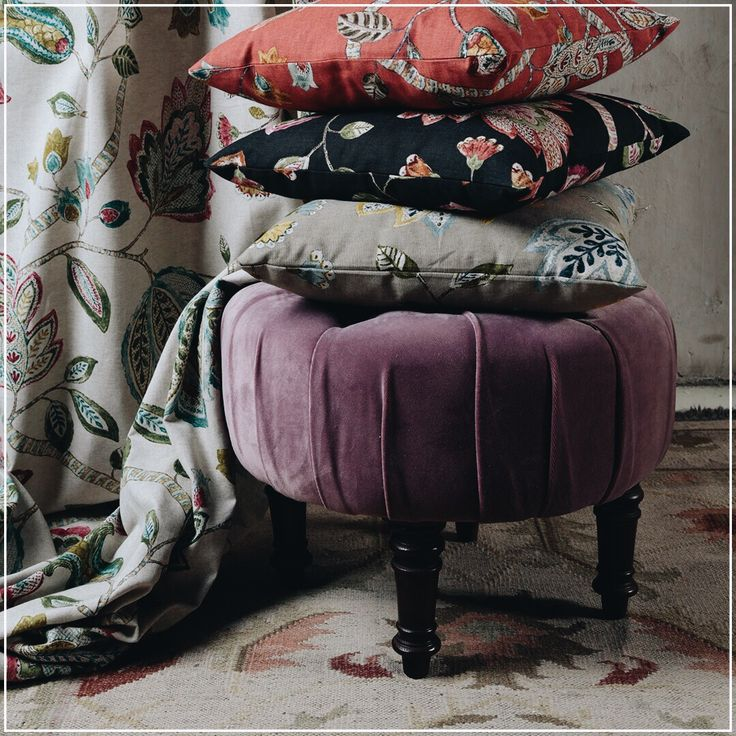 Acadia Park (guell-lamadrid.com): cheerful and stylish patterns at the same time #collection2016 #cotton #flowers #home #homedesign #homedecor #decor #decoration #homesweethome #interior #interiordesign #lovely #cute #textiles #textildesign #fabric #pattern #texture