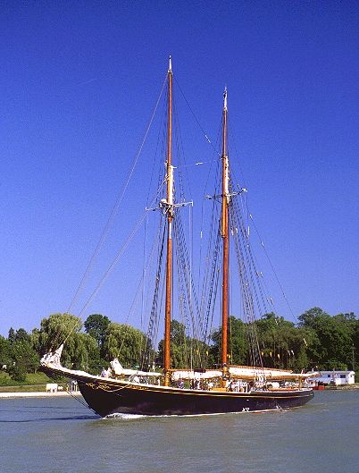 The Blue Nose II, home port Lunenburg NS