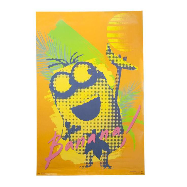 Despicable Me - Minions Banana 22x34 Standard Wall Art Poster