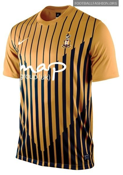 Bradford City Nike 2012/13 Away Kit by Football Fashion, via Flickr