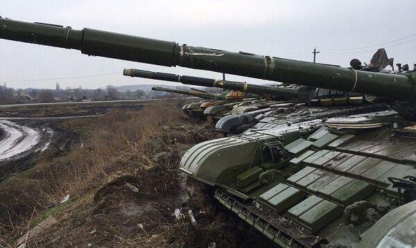 Россия перебросила к границе с Украиной снятые с вооружения танки | Новости Украины, мира, АТО