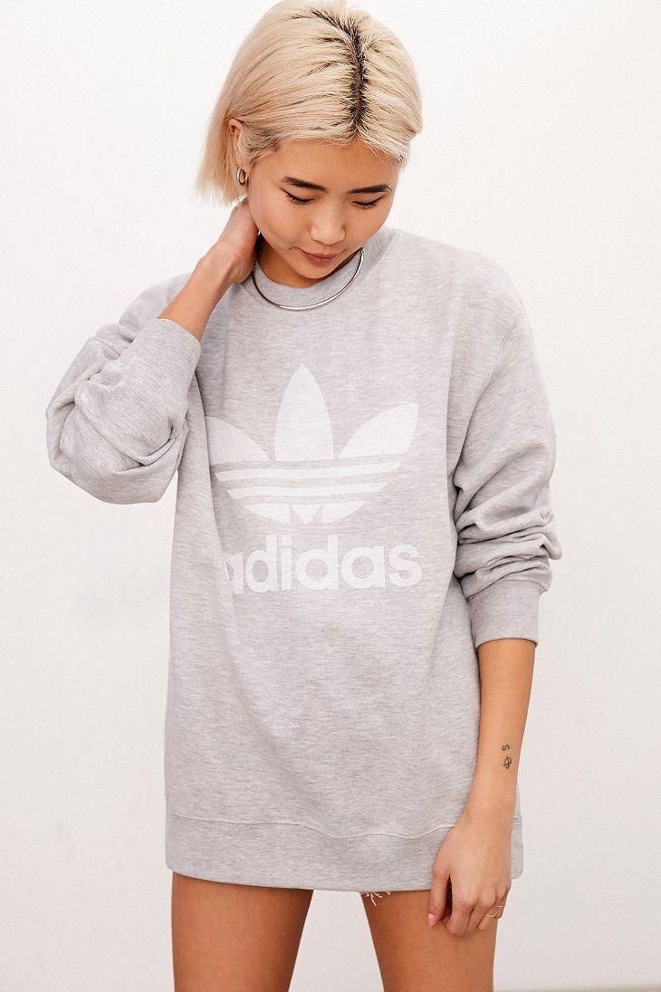 adidas Originals Double Logo Crew-Neck Sweatshirt