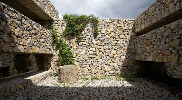 M s de 1000 ideas sobre piedra seca en pinterest muros - Piedra para muro exterior ...