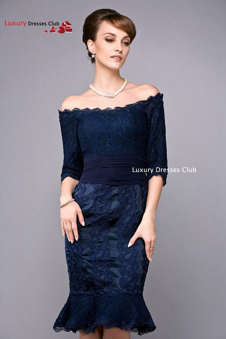 Aliexpress Navy Blue Lace Mermaid Plus Size Mother Of The Bride Dresses