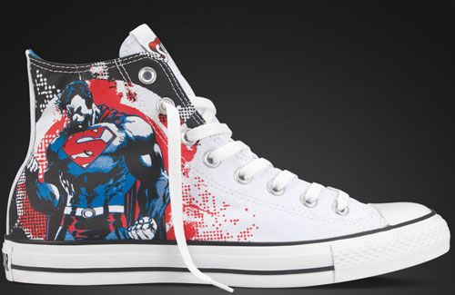 GeekNation | Geek Fashion: Super Cool Custom Converse-- I have these shoes!