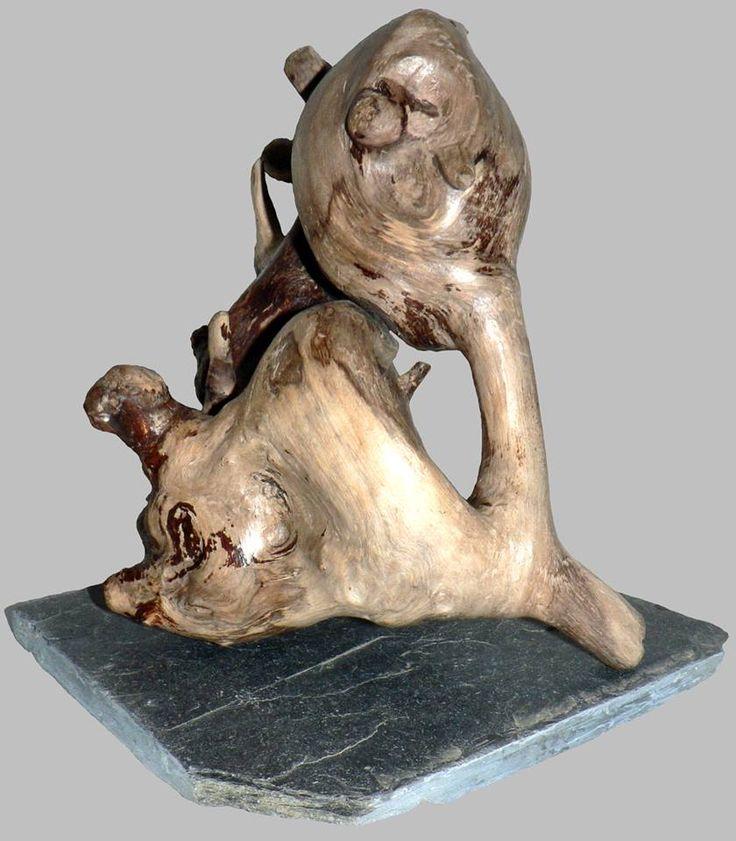 141 best sculpture bois flotté images on Pinterest | Drift wood ...