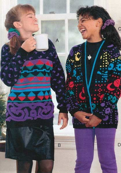 1990s Clothes Catalog Girls Fashion From A 1990 Catalog