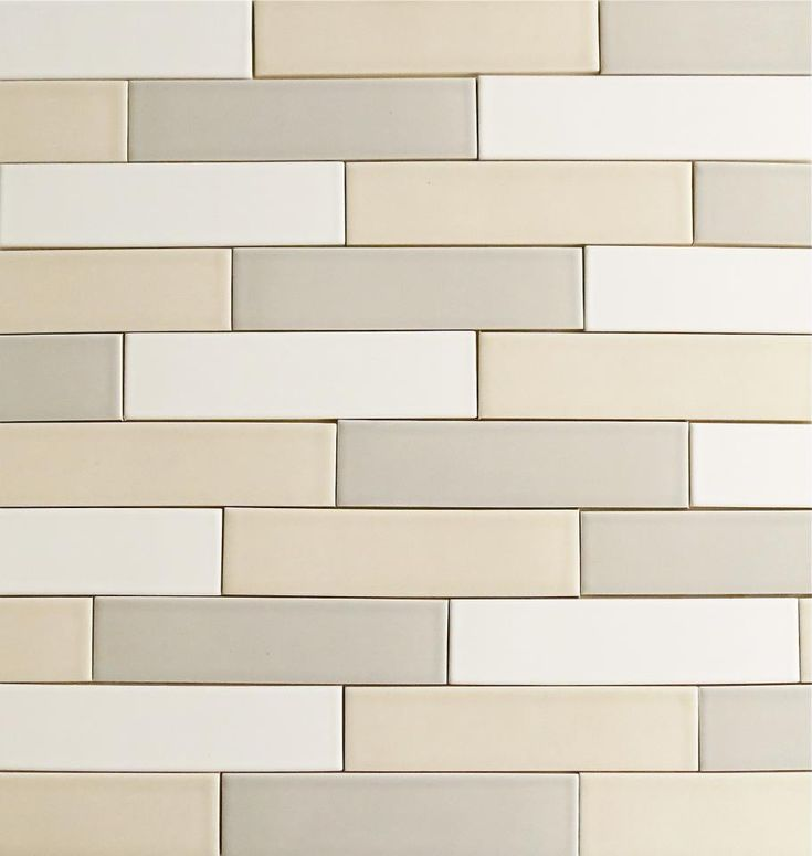 Our 2x8 Modern Ceramic Subway Tile Clayhaus For Modwalls In 24 Colors To Mix And Match