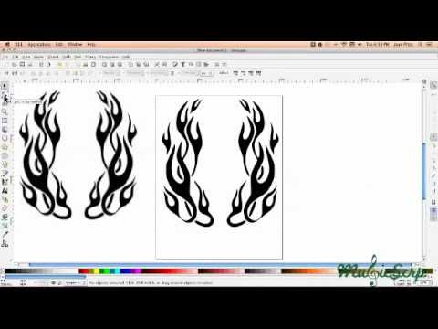 how to make a font in inkscape