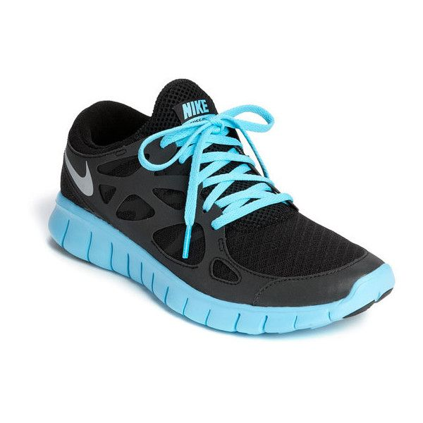 Nike Free Run 2 Reflective Running Shoe in Black/Silver/Blue i have the  regular Black/Anthracite and want these next - so comfortable!