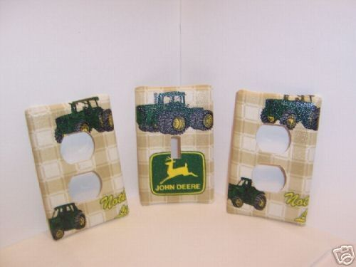 Light Switch Plate Outlet Covers W John Deere By