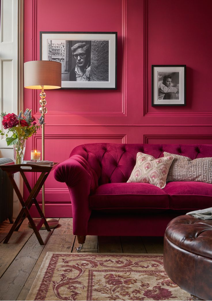 Best Interiors Montague Feather Images On Pinterest Feathers - Laura ashley living room purple