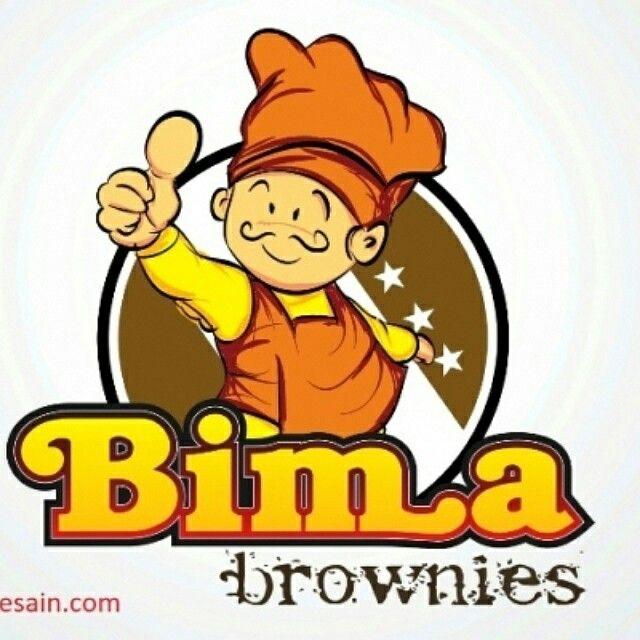 Logo Bima Brownies By BursaDesain.com  #LogoDesign #BBM:52A24478